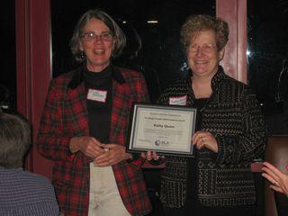 Cynthia Shamel and Kathy Quinn